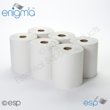 White Continuous Roll Towel