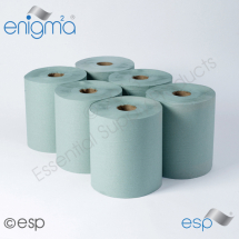 Green Continuous Roll Towel