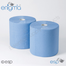 Embossed Blue Industrial Rolls