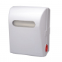 Mechanical Autocut Towel Dispenser White