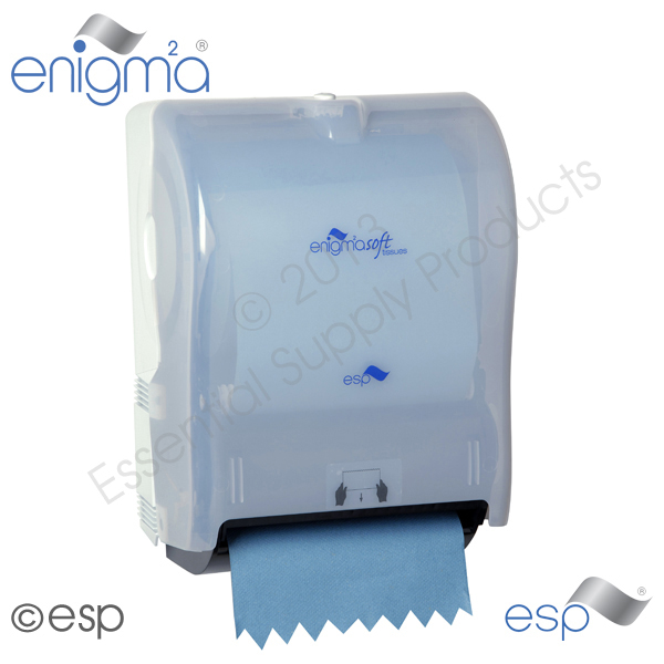 Mechanical Autocut towel Dispenser Blue
