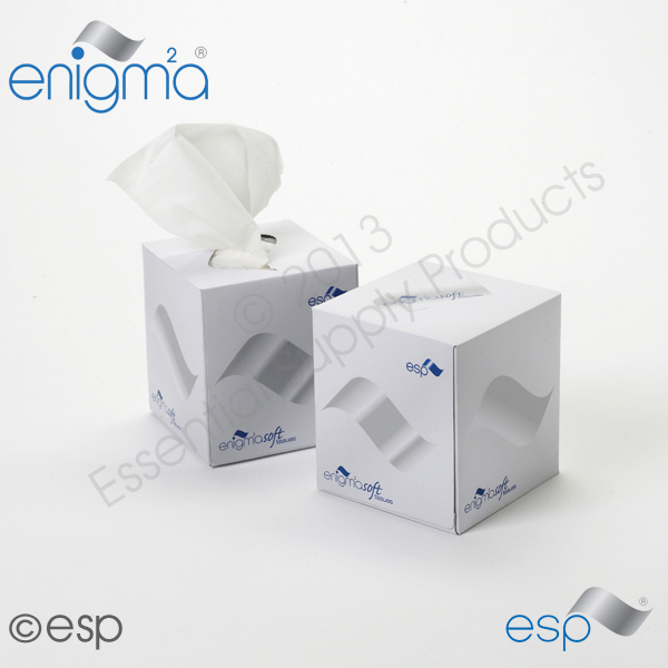 2 Ply White Facial Tissue Boutique             70 Sheets