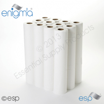 2 Ply White Enigma Embossed Hygiene Roll 40M x 500mm x 45mm 111 Sheets
