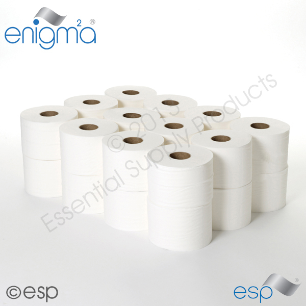 2 Ply White Micro Toilet Roll 125M x 86mm x 42mm 347 Sheets