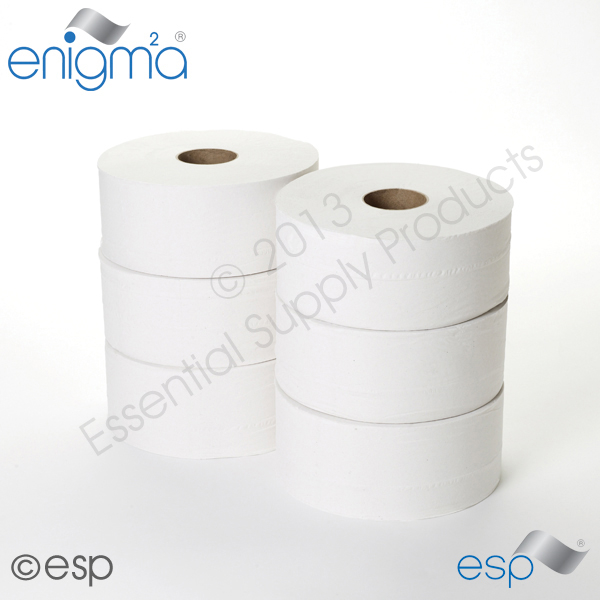 2 Ply Midi Jumbo Toilet Roll 230M x 86mm x 60mm 638 Sheets