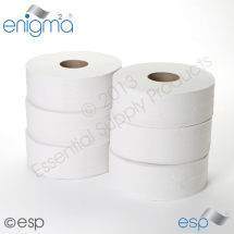 2 Ply Jumbo Toilet Roll 400M x 86mm x 80mm 1111 Sheets