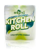 2 Ply White Kitchen Towels