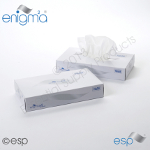 2 Ply White Facial Tissue Mansize 250 x 280mm 100 sheets