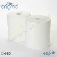 Embossed White Industrial Rolls